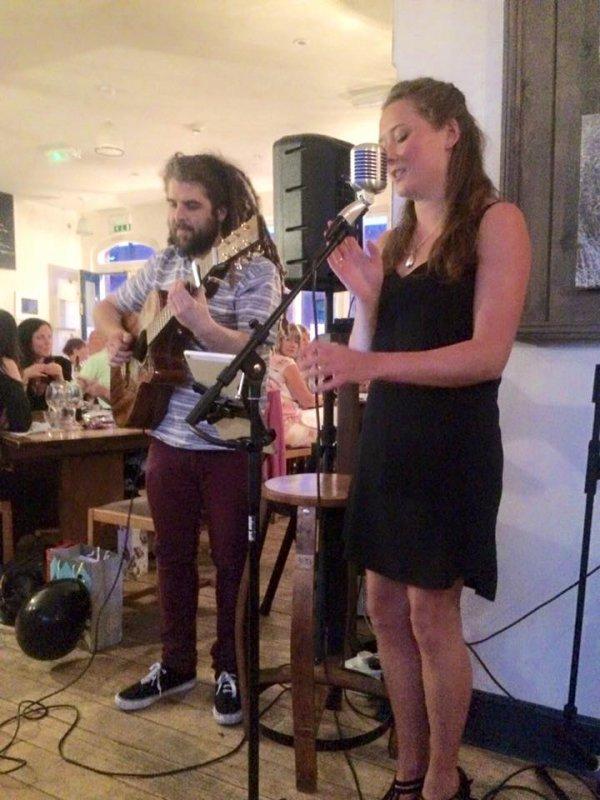 Tom Abrahams and Abigail Cardwell