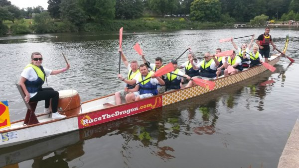 Miles and Barr enter team in Dragon Boat race