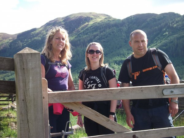 Team from Pfizer's climb 3 Peaks in aid of Martha raising £2,000