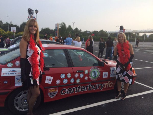 Sponsor opportunities of our Annual Car Challenge