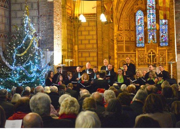 P&O Choir's Christmas Carol Service in aid of Martha