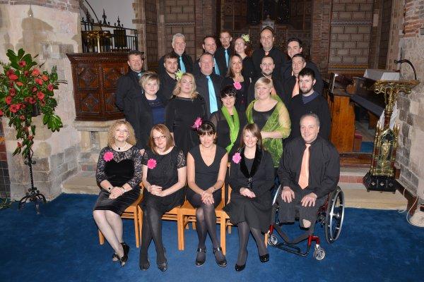P&O Choir raised £1,000 for Martha